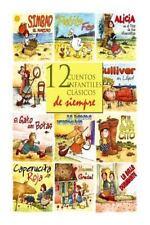 12 Cuentos Infantiles Clasicos de Siempre by Hermanos Grimm Paperback Book (Span