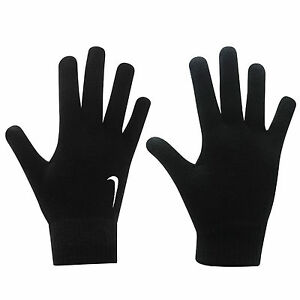 6e783ce4eca3 Image is loading Nike-Knitted-Gloves-Mens-Football-Running-Training-Cold-