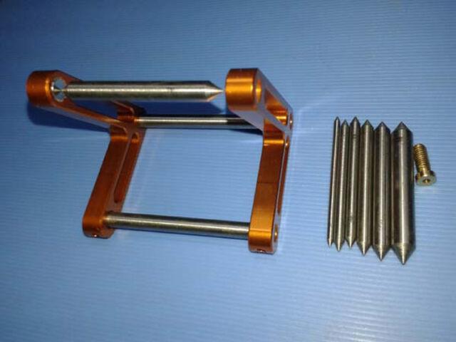 CNC Aluminum Magnetic Prop Propeller Balancer for Nitro Gas Electric RC Boat