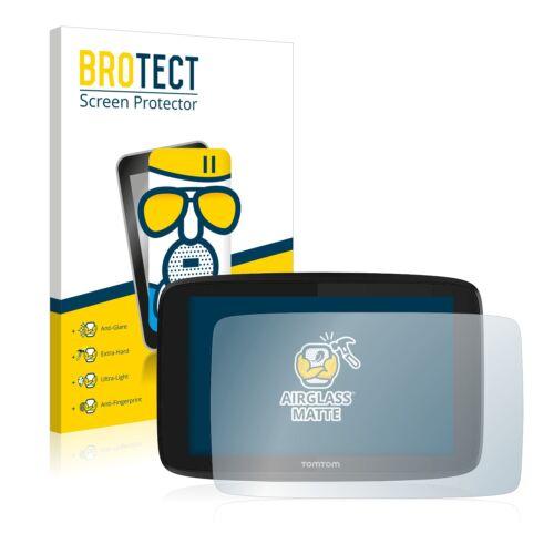 """6/"""" vidrio de seguridad Matt antirreflejos Protección de vidrio lámina TomTom GO essential"""