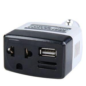 dc ac car power inverter laptop adapter For Apple iPhone SE 5 5S 5C 6 6s 7 Plus