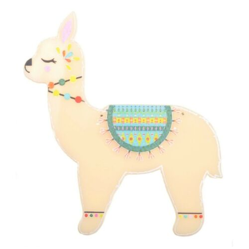 Llama Brooch by Love Boutique Acrylic Alpaca Quirky Gift