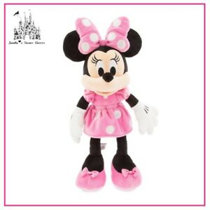 897776ecf11 Image is loading DISNEY-MICKEY-MOUSE-CLUBHOUSE-MINNIE-MOUSE-PINK-DRESS-