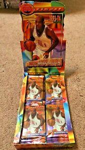 1993-94 Topps Finest Sealed HOBBY PACK!! Jordan Refractor??!! 7 Card Pack! L@@@K