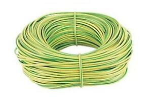 10M x 4mm Brown Earth Cable Sleeving 10 METRE BUNDLE