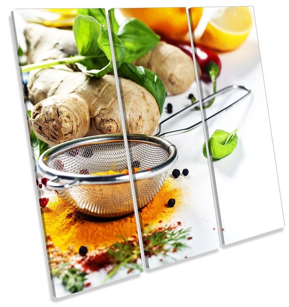 Frutta Frutta Frutta Fresca Cucina Quadro TREBLE TELA Wall Art Print 716e1e
