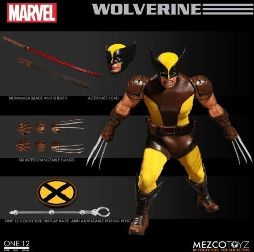 Mezco One 12 Collective Wolverine Action Figure NEW