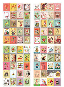 4-pages-amusement-park-decorate-diary-Paper-Crafts-stationery-stamp-stickers