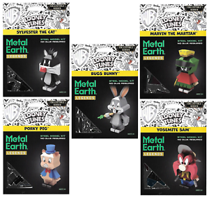 Fascinations Metal Earth Legends Looney Tunes Yosemite Sam 3D Steel Model Kit