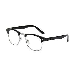 7fa8f4a938 Mens Non Prescription Clear Lens Vintage Classic Glasses Stylish ...