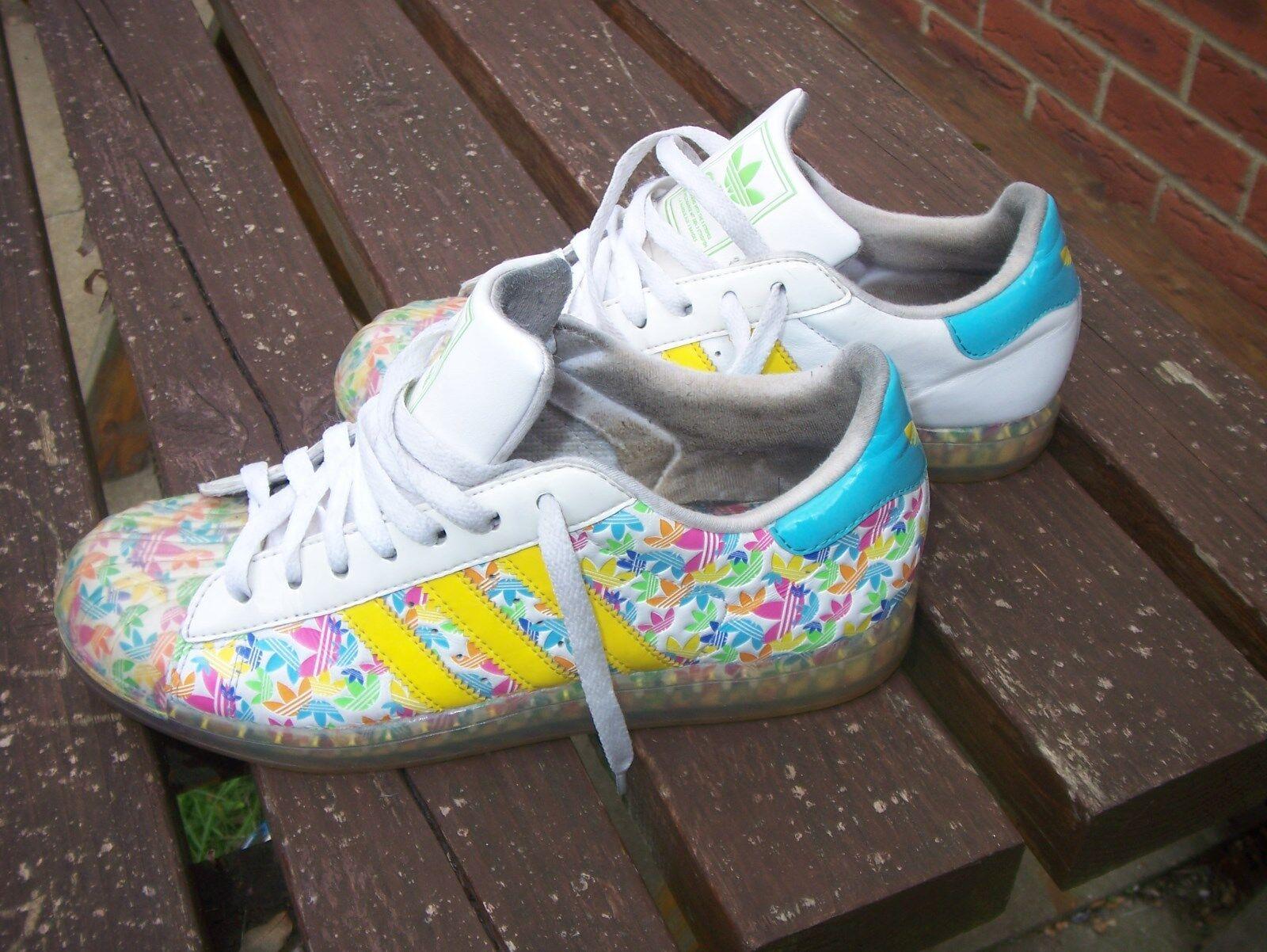 Authentic Adidas 7 péché de la semelle, taille UK6, 5