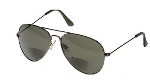 Wrap Around,Sport UV400 Bifocal Sunglasses Sun Readers Reading Glasses Aviator
