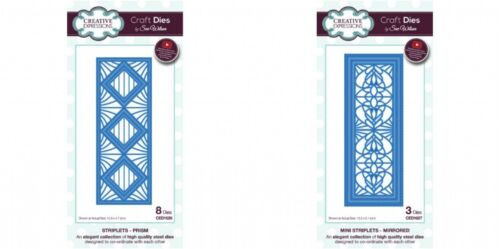 Sue Wilson Striplet Dies Creative Expressions April 2017 Collection
