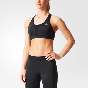 b2a8f3fdce ADIDAS Women s Performance Climalite Sport Bra Training Gym Size XS ...