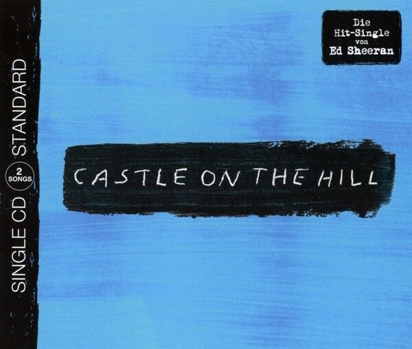Ed Sheeran - Castle On The Hill (2-Track) CD Maxi Asylum Records NEW