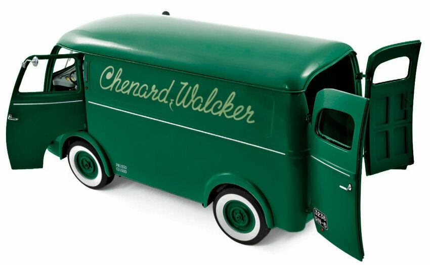 MODELLO 1/18 NOREV TYPE CHV CHENARD & WALKER GREEN