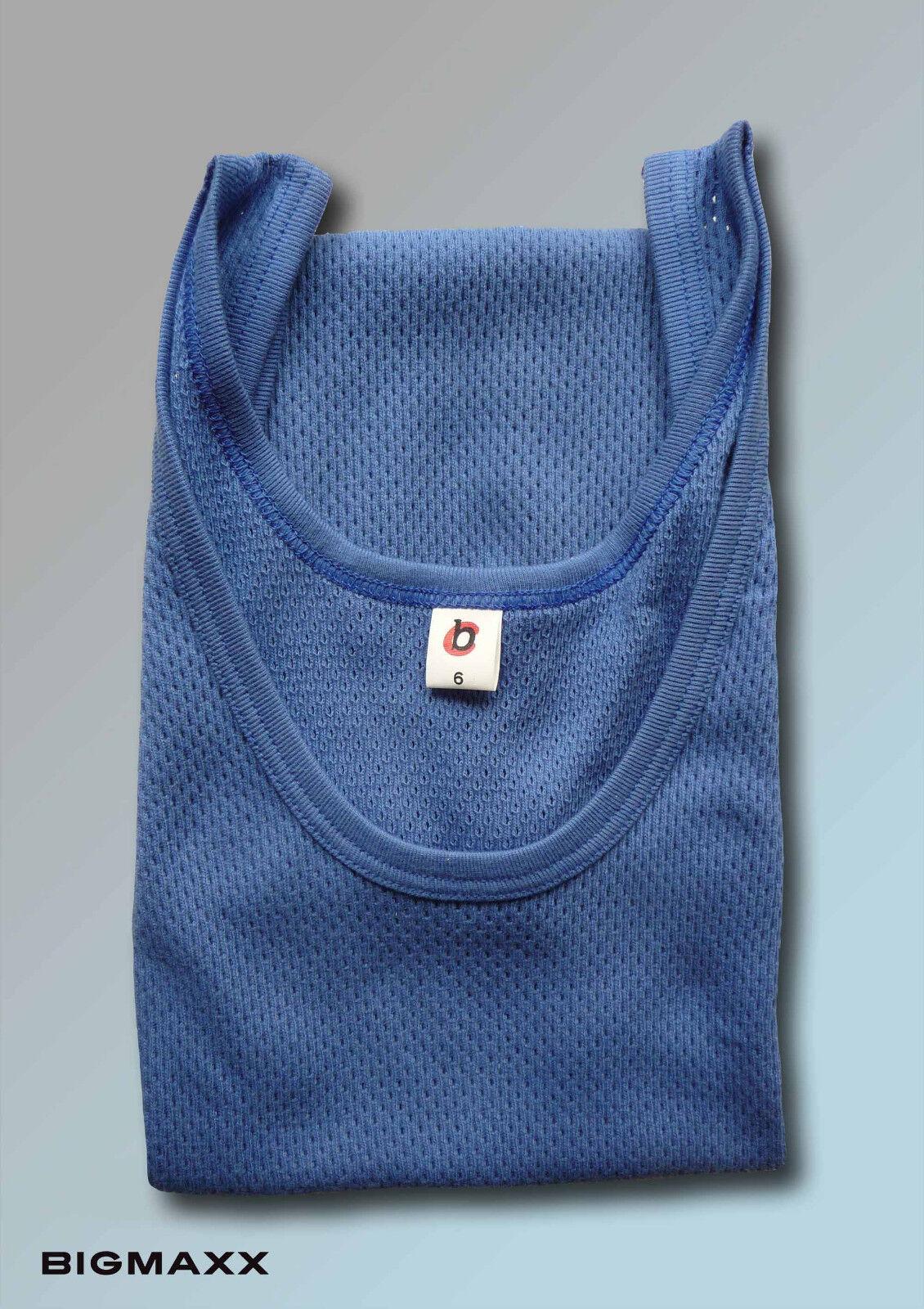Bienvenue dans la nouvelle boutique en les trois étapes pour célébrer les en quatre auspicieux 6ER SET maillots de Corps Hommes Bleu rippunterhemd Haut sous-vêteHommes t 19bbf2
