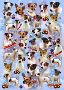Parson-Jack-Russell-Terrier-Dog-Christmas-Wrapping-Paper-By-Starprint