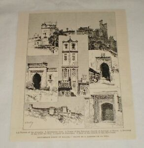 1893-magazine-engraving-PICTURESQUE-POINTS-OF-MALAGA-Spain