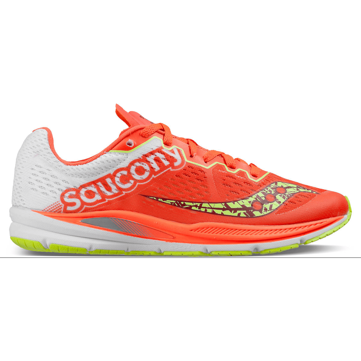 NIB WOMENS SAUCONY FASTSWITCH 8 CORAL CITRON S19032-1 RUNNING SHOES SZ 8M J819