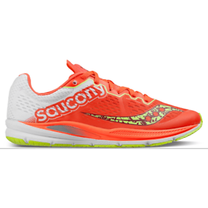 NIB WOMENS SAUCONY FASTSWITCH 8 CORAL CITRON S19032-1 RUNNING SHOES SIZE 8M J523