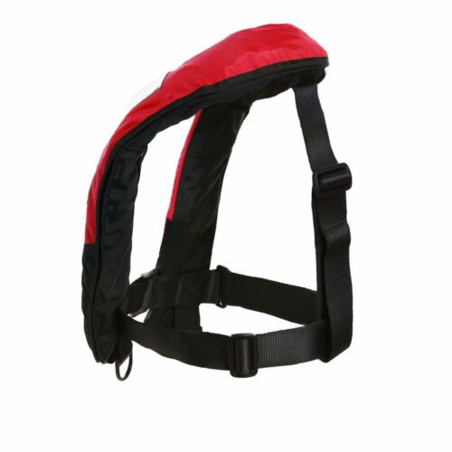 Quality M-33 Manual Inflatable Life Jacket Lifevest PFD Reflective Bouyancy A+