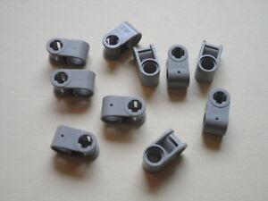 Lego-10-connecteurs-gris-clairs-set-8485-7418-8032-light-grey-connectors-technic