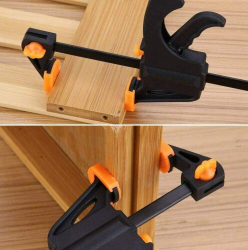 """Quick Grip 4/""""-10/"""" F woodworking Clamp Clip Heavy Duty Wood Carpenter Tool Clamp"""
