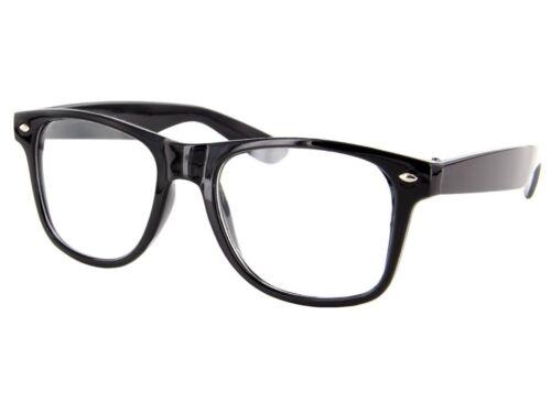 Style Nerd Lunettes rétro Lunettes Lunettes de soleil Geeks apprécier lunettes clair Wayfarer