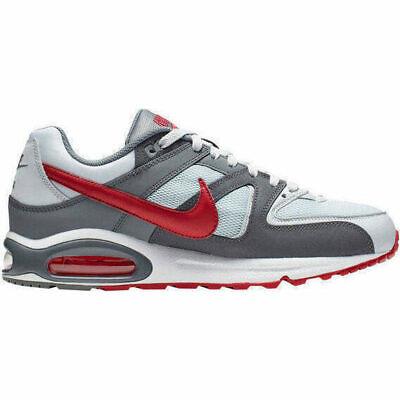 Scarpe sportive uomo NIKE Air Max Command in tela grigio e rosso 629993 049 | eBay