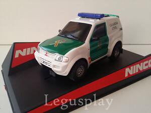 Slot-SCX-Scalextric-Ninco-50519-Mitsubishi-Pajero-Guardia-Civil