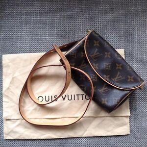 Louis-Vuitton-Bum-Bolso-sin-asas-con-cinturon-extraible-Raro-Excelente-Estado