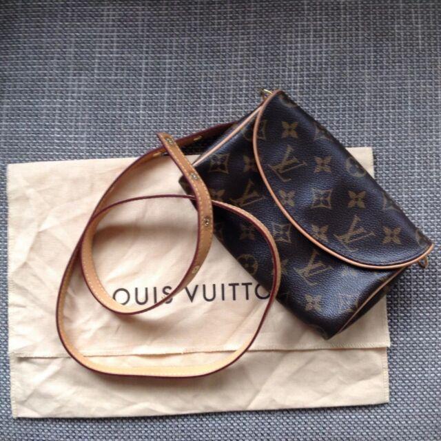Louis Vuitton Bum Bag embrague con cinturón intercambiable. Raro. Excelente Estado