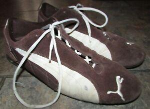 Puma Repli Cat Low US Size 12 Brown Suede Sneakers #300639-09