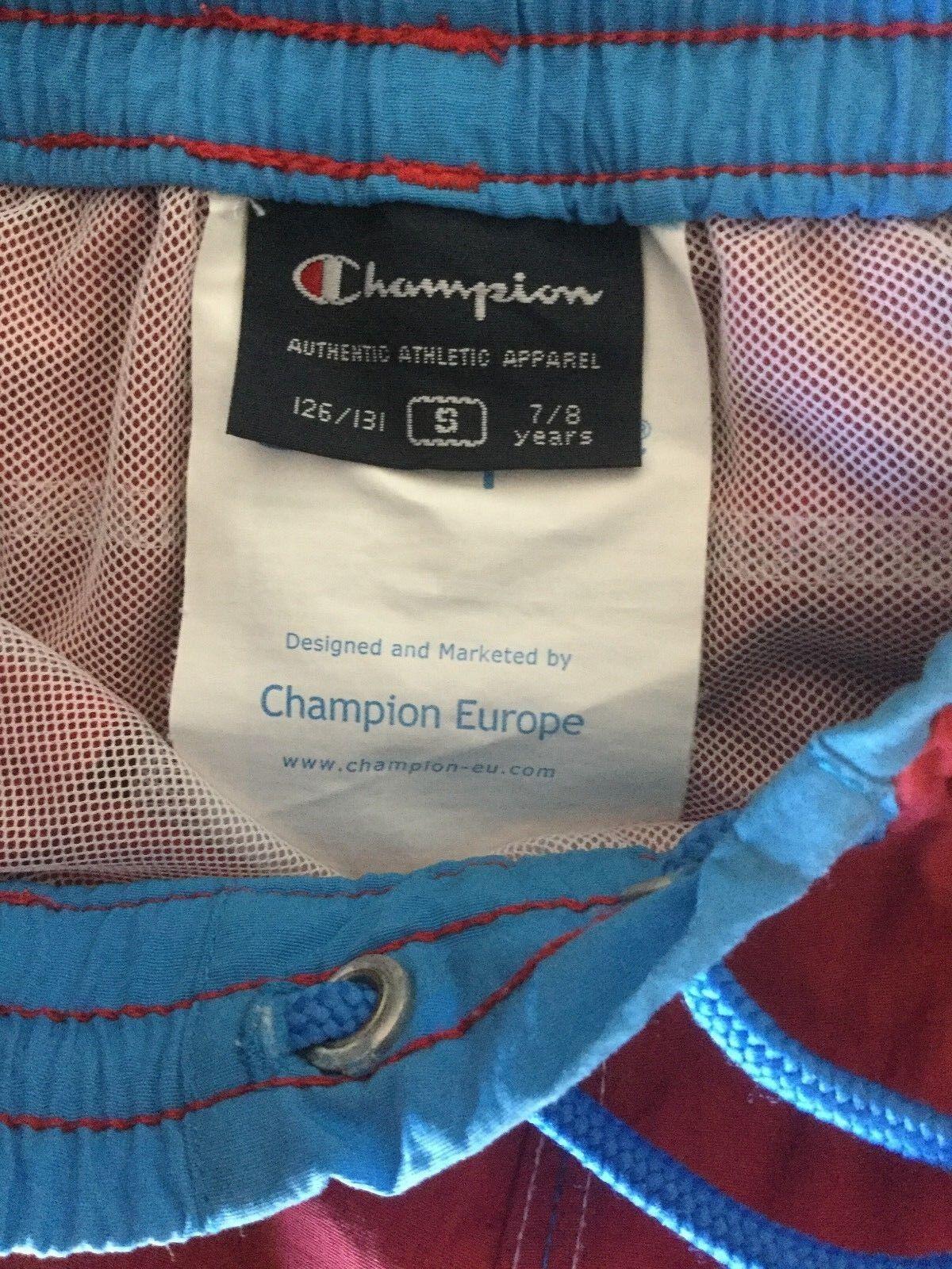 Champion pantaloncino da mare shorts by sea size costume bambini size sea s 7-8 years b7c60a