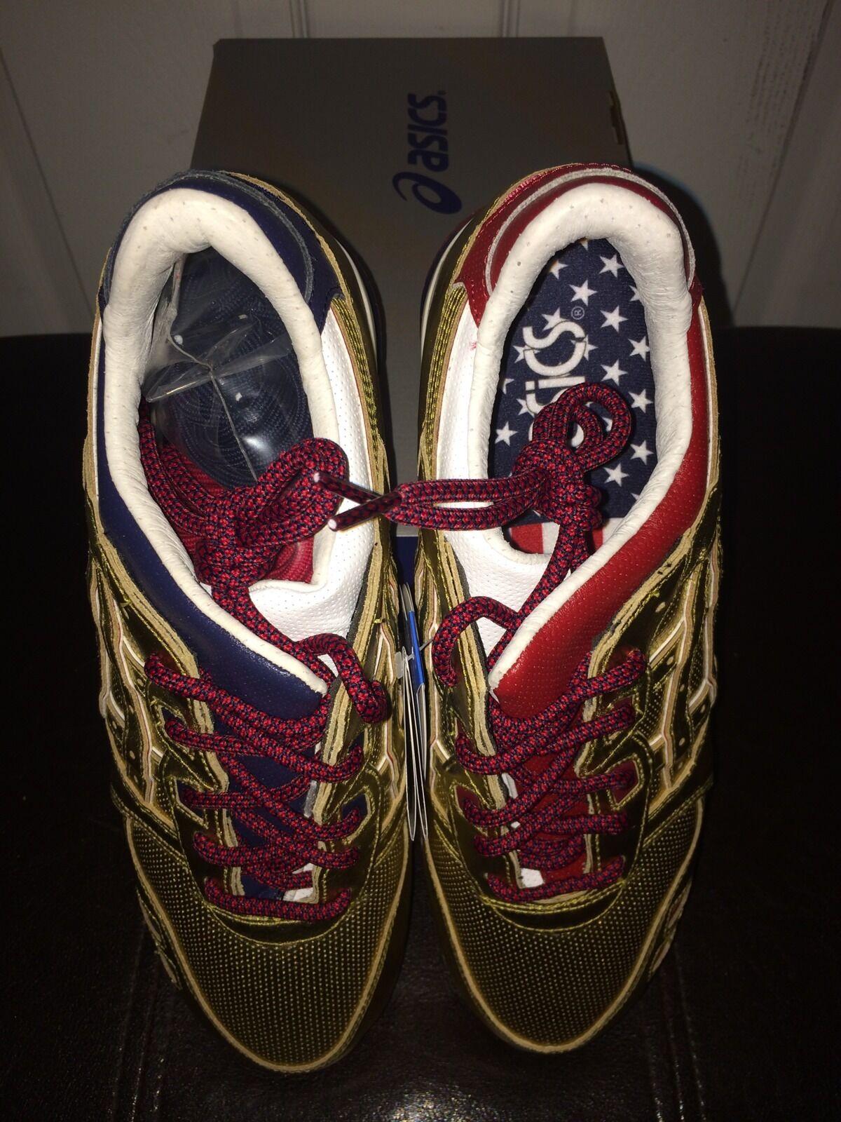 Asics Gel-Lyte III x Ronnie Fieg Fieg Fieg Kith KFE USA gold Medal Denim Sz 10 91c70e