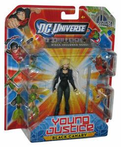 DC Comic UNIVERSO Black Canary YOUNG JUSTICE ACTION FIGURE NUOVI/SIGILLATI