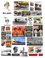 1:18 1:24 Vintage Drag Racing 2 Decals For Diecast And Model Cars Dioramas