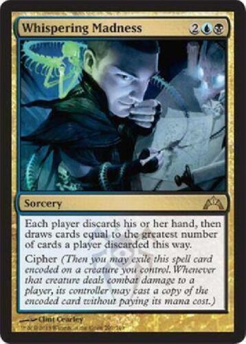 4x Whispering Madness new MTG Gatecrash Magic