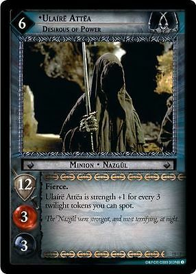 LOTR CCG ROTK FOIL 7R210 Ulaire Attea Wraith On Wings