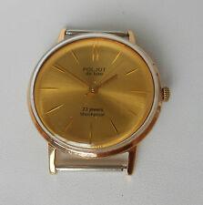 Poljot de luxe. 23 j. 2209 ULTRA slim Soviet watch. Ussr. Gold plated Au20