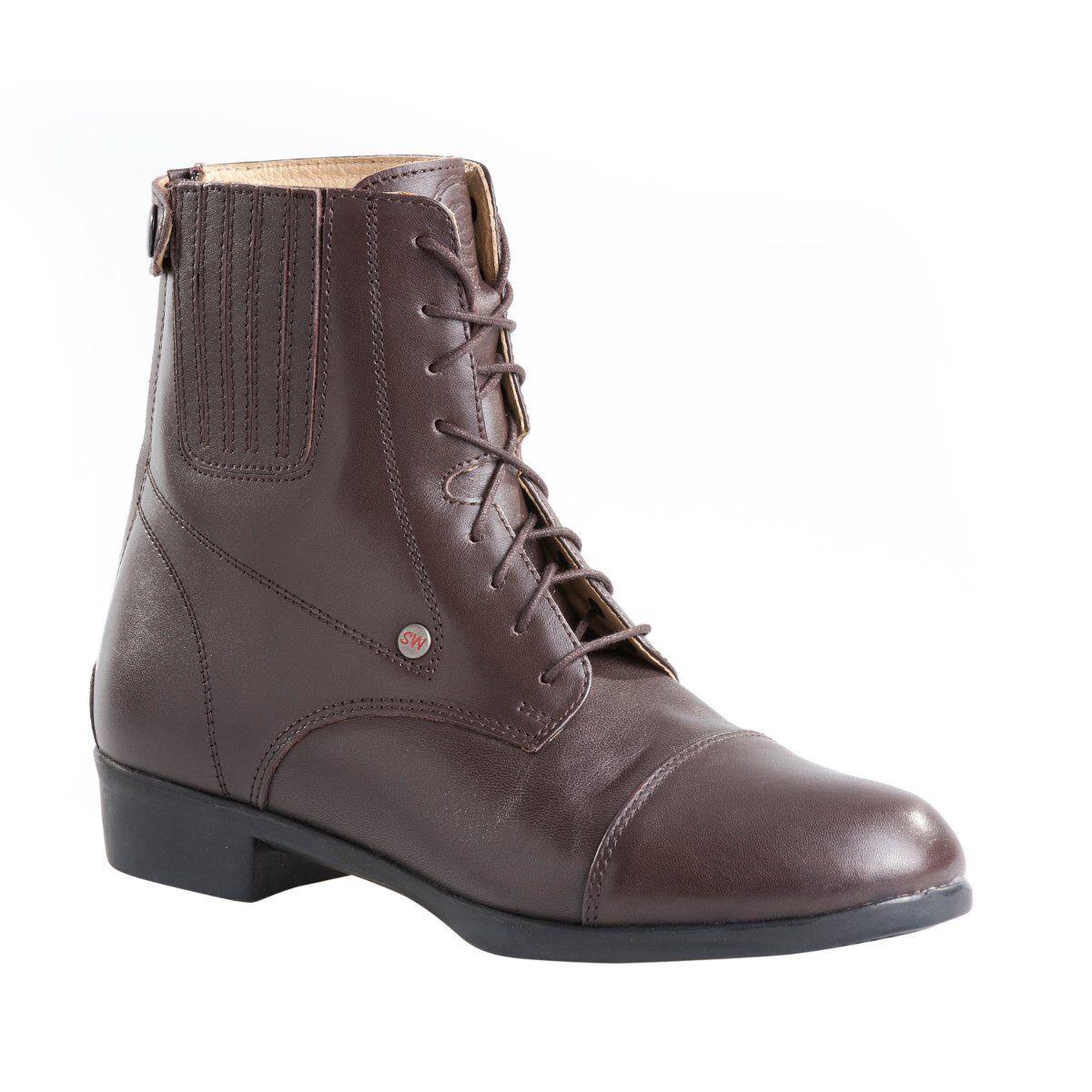 Suedwind botas Oxford Advanced Marrón botas de Monta Premium botas de Piel Cuero