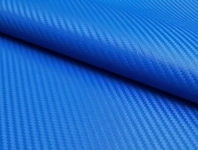 0,5 X 1,3 Meter Kunstleder Carbon Blau Sitzbank Polsterung Sitzbezug Auto Kfz Einfach Zu Reparieren