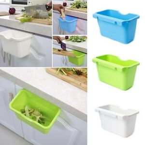 Image Is Loading Kitchen Cabinet Door Hanging Trash Garbage Bin Can