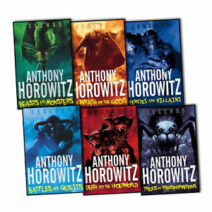 Anthony-Horowitz-Legends-Collection-6-Books-Set-Battles-amp-Quests-Beast-Monsters