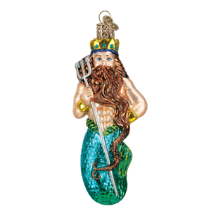 Old-World-Christmas-NEPTUNE-24140-N-Glass-Ornament-w-OWC-Box