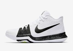48aba59142e Nike Kyrie 3 TB COOKIES AND CREAM TUXEDO OREO 917724-100 sz 15 ...