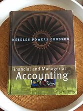 Financial And Managerial Accounting, Crosson, Susan V., Powers, Marian, Needles,
