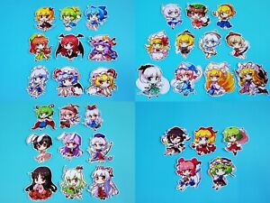 Touhou Project Art Stickers 6Pcs Part 7  Free Shipping