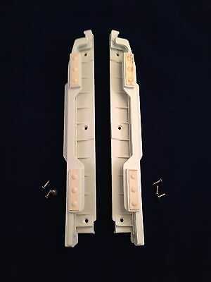 Ronco Showtime Rotisserie Glass Door White Track Feet COMPACT Replacement Part